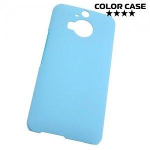 Кейс накладка для HTC One М9 Plus - Голубой