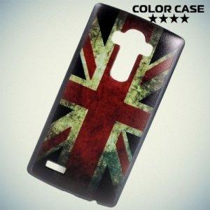 Кейс накладка для LG G4 с орнаментом Британский флаг