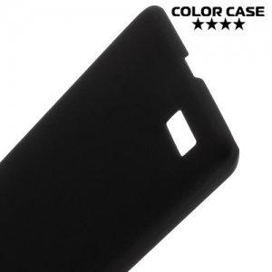 Кейс накладка для LG Max X155 - Черный