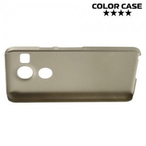 Кейс накладка для LG Nexus 5X - Золотой
