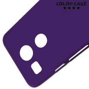 Кейс накладка для LG Nexus 5X - Фиолетовый