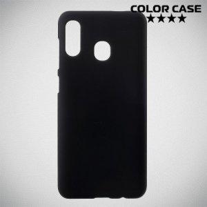 Кейс накладка для Samsung Galaxy A30 / A20 - Черный