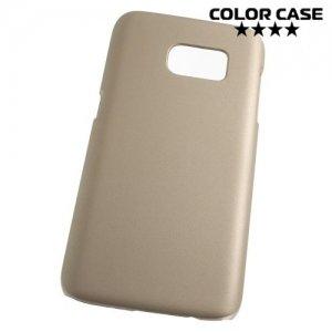 Кейс накладка для Samsung Galaxy S7 - Золотой