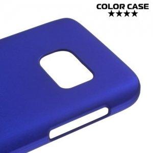 Кейс накладка для Samsung Galaxy S7 - Синий