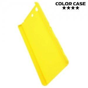 Кейс накладка для Sony Xperia M5 - Желтый
