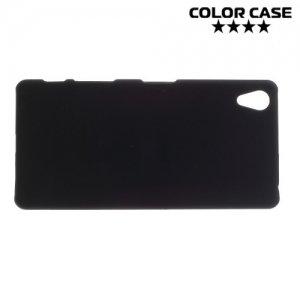 Кейс накладка для Sony Xperia X - Черный