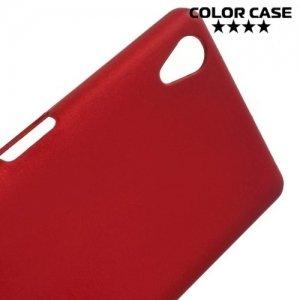 Кейс накладка для Sony Xperia X - Красный