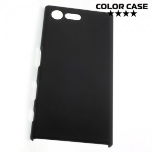 Кейс накладка для Sony Xperia X Compact - Черный
