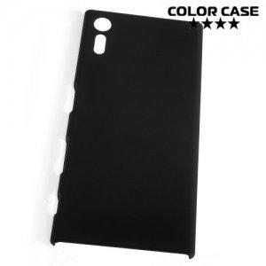 Кейс накладка для Sony Xperia XZ / XZs - Черный