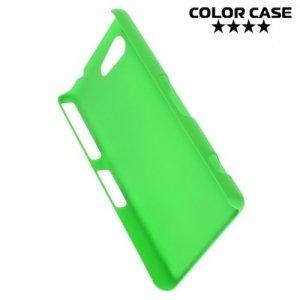 Кейс накладка для Sony Xperia Z3 Compact D5803 - Зеленый