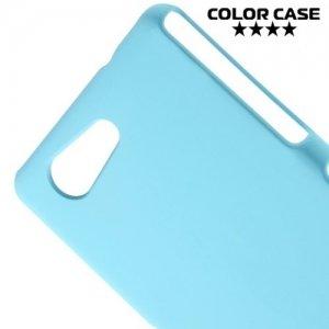 Кейс накладка для Sony Xperia Z3 Compact D5803 - Голубой