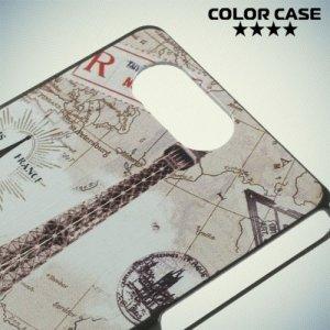 Кейс накладка для Sony Xperia Z3 Compact D5803 - с рисунком Париж