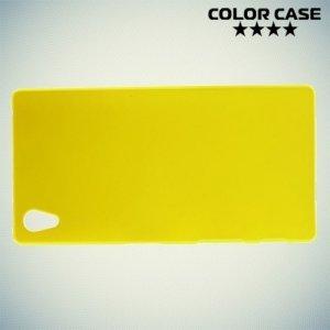 Кейс накладка для Sony Xperia Z5 ColorCase - Желтый