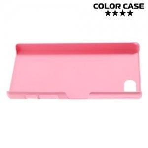 Кейс накладка для Sony Xperia Z5 Compact E5823 - Розовый