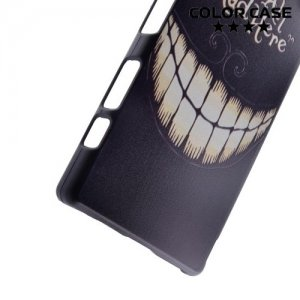 Кейс накладка для Sony Xperia Z5 Compact E5823 - с рисунком Улыбка Чеширского кота