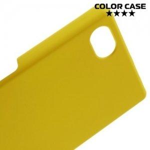 Кейс накладка для Sony Xperia Z5 Compact E5823 - Желтый