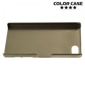 Кейс накладка для Sony Xperia Z5 Compact E5823 - Золотой