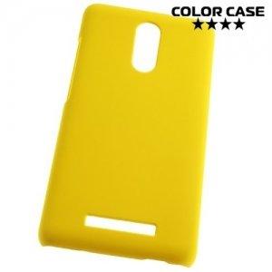 Кейс накладка для Xiaomi Redmi Note 3 - Желтый