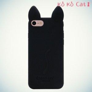 KoKo Cat Силиконовый чехол с ушками для iPhone 8/7