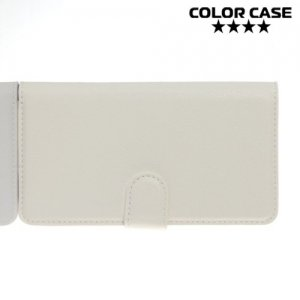 Чехол книжка для LG G4s H736 - Белый