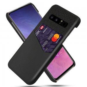 KSQ PU Кожаный Кейс Накладка Чехол для Samsung Galaxy Note 8 и Слот для Карты Черный