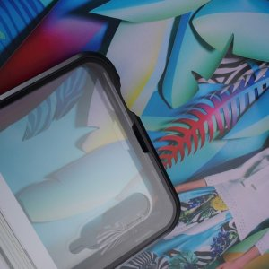 Магнитный Стеклянный Чехол с Металлическим Бампером для Huawei Honor 9X / 9X Pro Черный