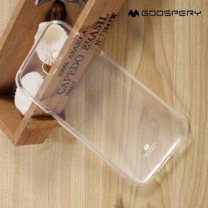 MERCURY GOOSPERY силиконовый чехол для Samsung Galaxy A7 2017 SM-A720F - Прозрачный