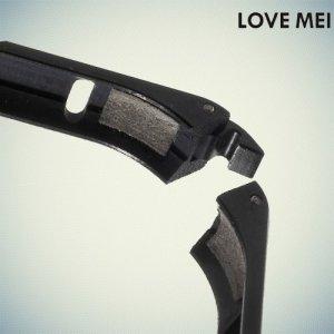 Металлический алюминиевый бампер для iPhone 6S / 6 - Черный