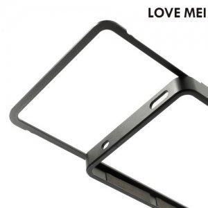 Металлический алюминиевый бампер для Sony Xperia Z3 Compact D5803 - Черный