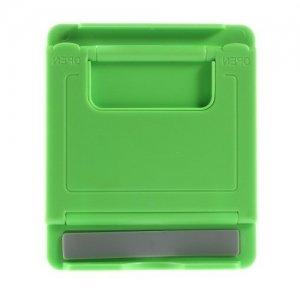 Многоугловая подставка для телефонов зеленая