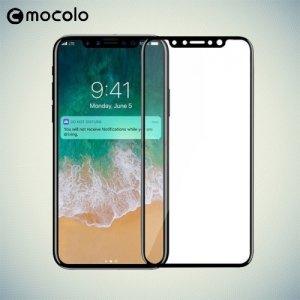 Mocolo Изогнутое 3D защитное стекло для iPhone Xs / X на весь экран