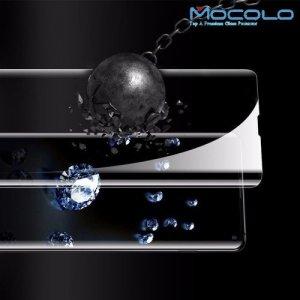 MOCOLO Изогнутое защитное 3D стекло для Samsung Galaxy S10 - Прозрачное Жидкий Ультрафиолетовый Клей