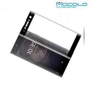 MOCOLO Изогнутое защитное 3D стекло для Sony Xperia XA2 Ultra - Черное
