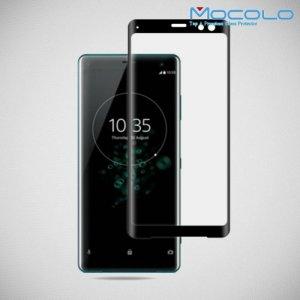 MOCOLO Изогнутое защитное 3D стекло для Sony Xperia XZ3 - Черное