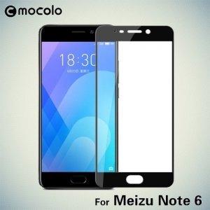 Mocolo Защитное стекло для Meizu M6 Note на весь экран - Черный
