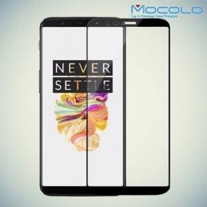 Mocolo Защитное стекло для OnePlus 5T на весь экран - Черный