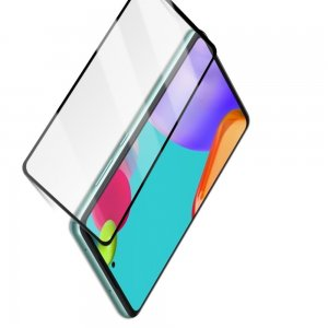 Защитное стекло для Samsung Galaxy A52 - Черное