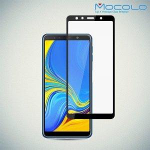 MOCOLO Защитное стекло для Samsung Galaxy A7 2018 - Черное