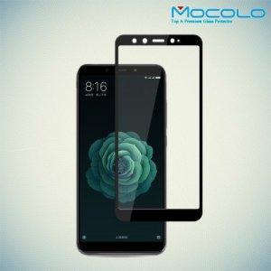 MOCOLO Защитное стекло для Xiaomi Mi 6x / Mi A2 - Черное