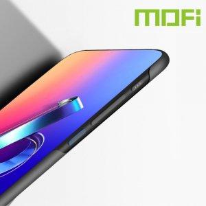 Mofi Slim Armor Матовый жесткий пластиковый чехол для Asus Zenfone 6 ZS630KL - Черный