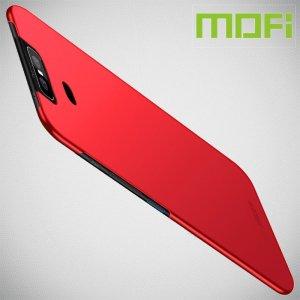 Mofi Slim Armor Матовый жесткий пластиковый чехол для Asus Zenfone 6 ZS630KL - Красный