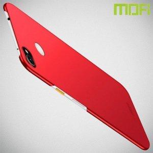 Mofi Slim Armor Матовый жесткий пластиковый чехол для Google Pixel 3a XL - Красный
