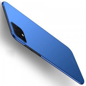 Mofi Slim Armor Матовый жесткий пластиковый чехол для Google Pixel 4 XL - Синий
