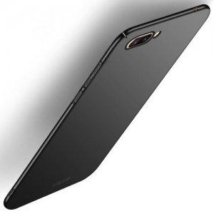 Mofi Slim Armor Матовый жесткий пластиковый чехол для Huawei Honor 10 - Черный
