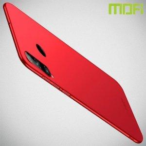 Mofi Slim Armor Матовый жесткий пластиковый чехол для Huawei Honor 20 Lite - Красный