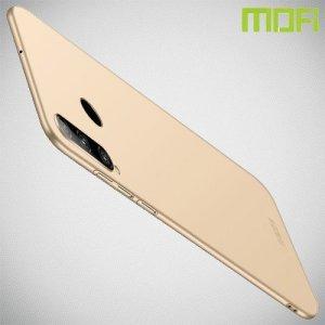 Mofi Slim Armor Матовый жесткий пластиковый чехол для Huawei Honor 20 Lite - Золотой