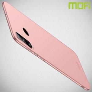 Mofi Slim Armor Матовый жесткий пластиковый чехол для Huawei Honor 20 Lite - Розовое Золото