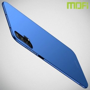 Mofi Slim Armor Матовый жесткий пластиковый чехол для Huawei Honor 20 Pro - Синий