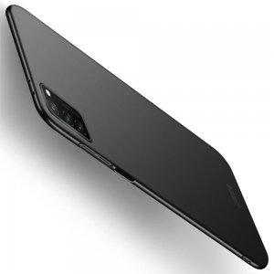 Mofi Slim Armor Матовый жесткий пластиковый чехол для Huawei Honor View 30 - Черный