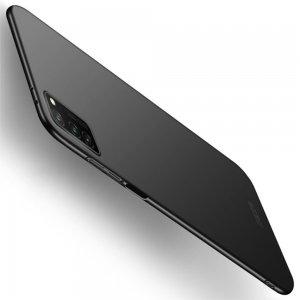 Mofi Slim Armor Матовый жесткий пластиковый чехол для Huawei Honor View 30 / View 30 Pro - Черный